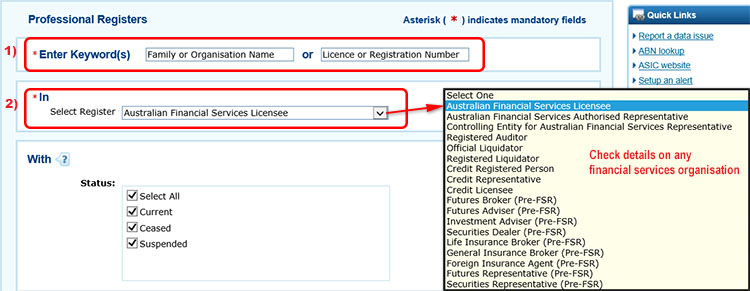 Verify The Online Broker Has Current AFSL